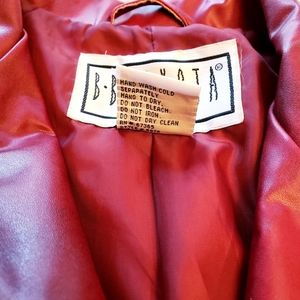 BB Dakota Jackets & Coats - BB Dakota Sz Small Burgundy Red Button Down Jacket